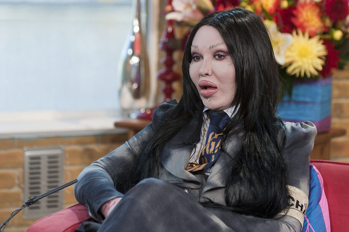 Celebrities have paid tribute to Pete Burns, who passed away on Sunday (Picture: REX/Shutterstock)