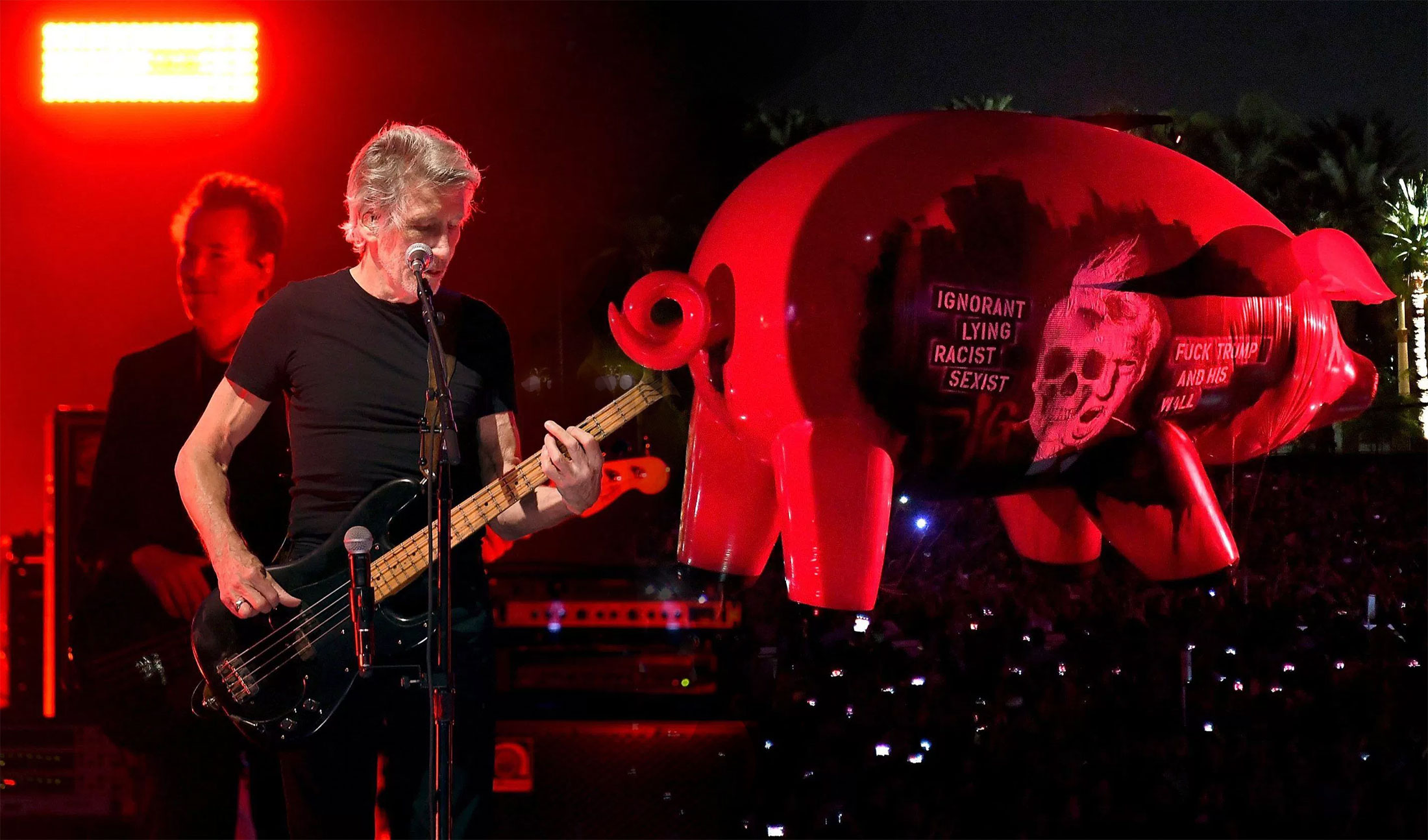 Roger Waters is not a fan of Donald Trump (Picture: Getty)