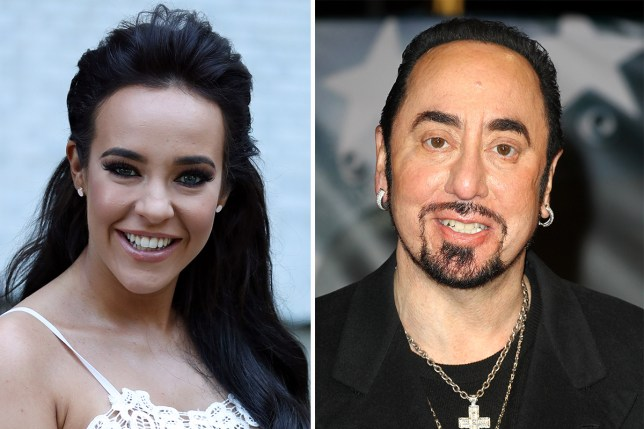Stephanie Davis says she had a dream about David Gest 'dyeing his own hair in heaven'
