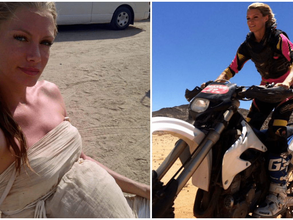 Stunt woman who lost her arm on set of Resident Evil says 'there's no point feeling down' about it