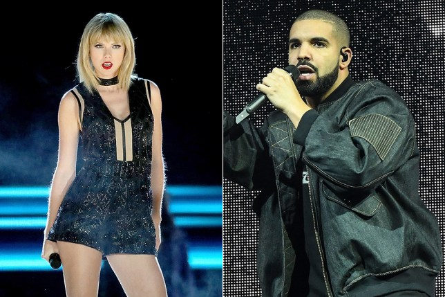 Hold the bloody phone, Drake and Taylor dating?! Credit Getty