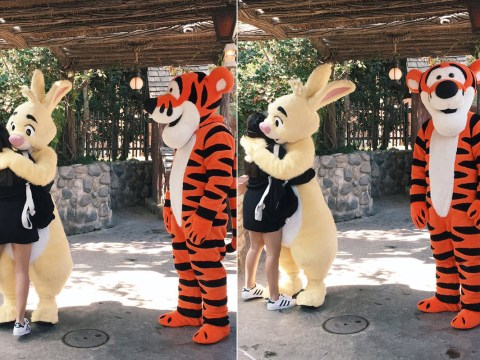 People are seriously relating to this picture of Tigger getting rejected from a hug