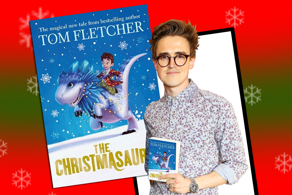 Tom Fletcher's The Christmasaurus is being turned into a stage play