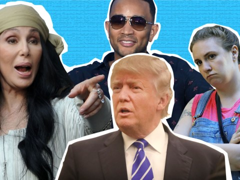 Former reality star Donald Trump's sexist remarks caused the rest of the celebrity world to unite