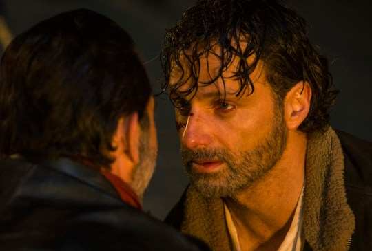 Things got emotional (Picture: AMC)
