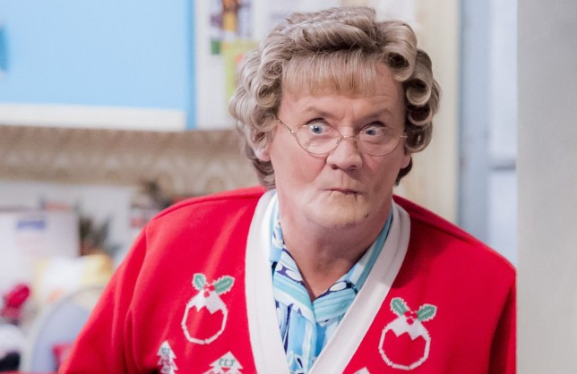 The BBC has announced two Christmas episodes of Mrs Brown's Boys is coming (Picture: Alan Peebles/BBC)