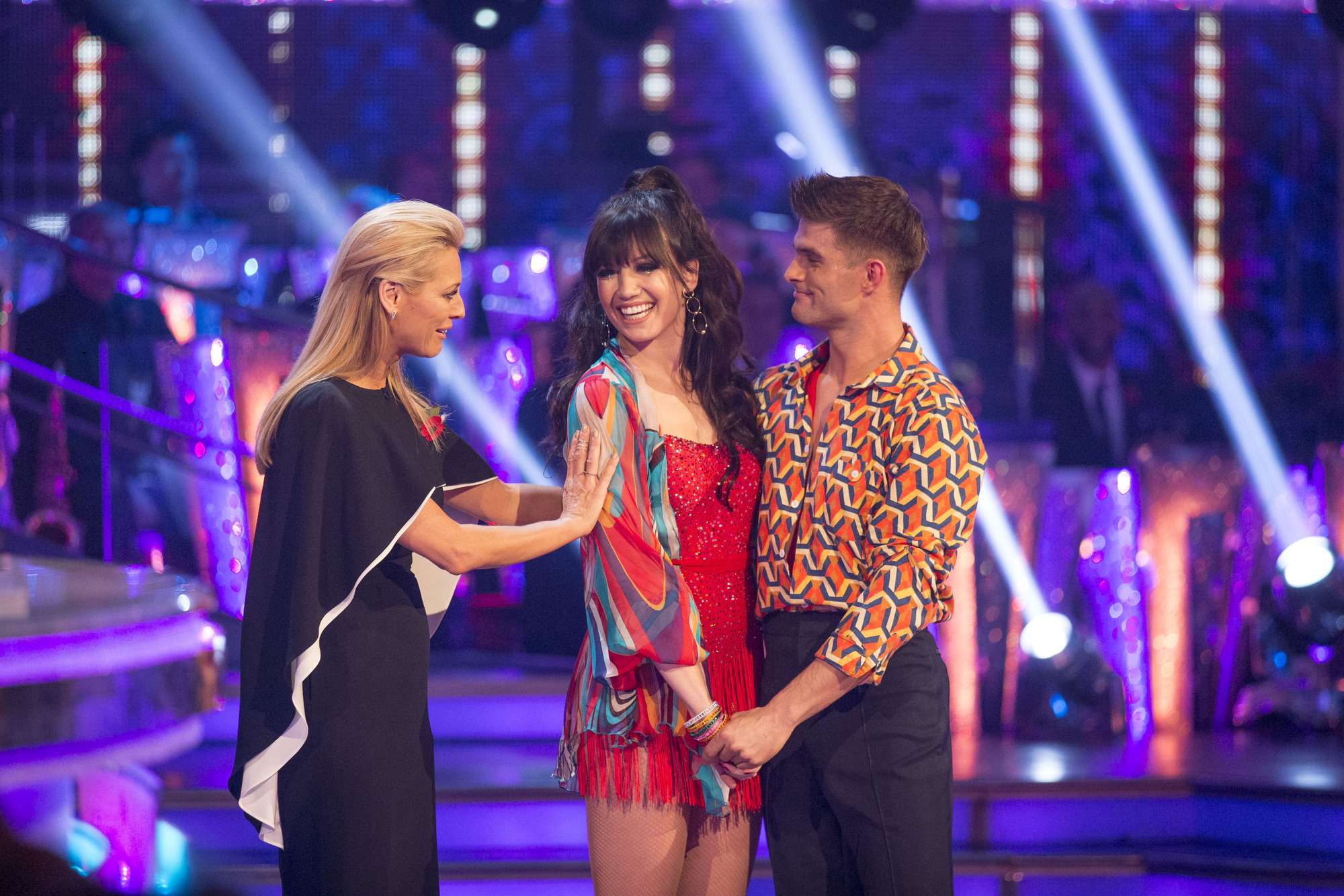 Strictly Come Dancing: Greg Rutherford keeps his cool in the bottom two – but Daisy Lowe crashes out
