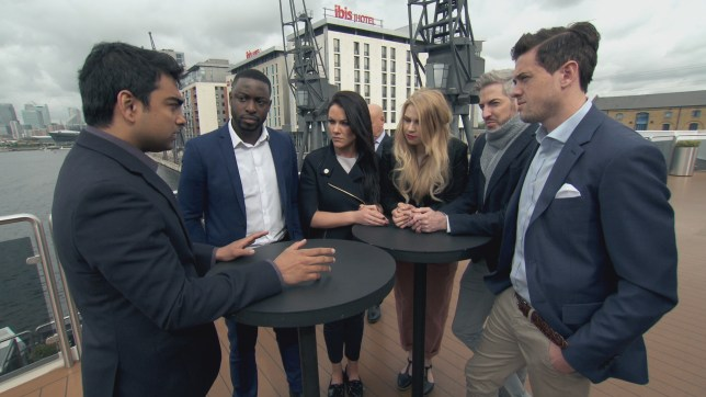 WARNING: Embargoed for publication until 00:01:00 on 17/11/2016 - Programme Name: The Apprentice S13 2016 - TX: 17/11/2016 - Episode: n/a (No. n/a) - Picture Shows: THIS IMAGE IS UNDER STRICT EMBARGO OF 17th NOVEMBER 2016 00.01 Karthik Nagesan - (C) BBC - Photographer: Screen grab