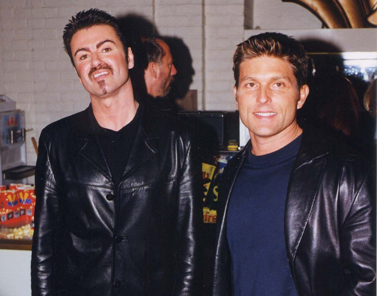 George Michael and Kenny Goss in 1996 (Picture: FilmMagic)