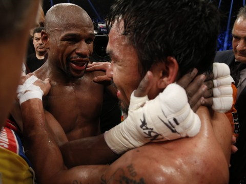 Manny Pacquiao reveals he invited Floyd Mayweather to his comeback fight because he is targeting revenge
