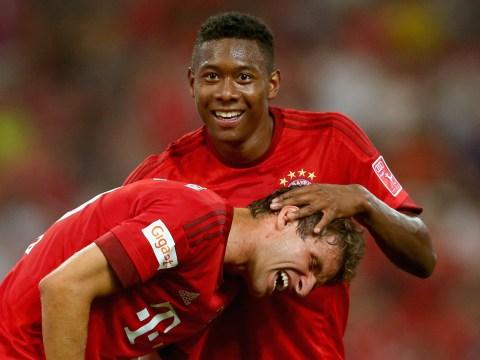 Manchester United target David Alaba prefers Arsenal transfer