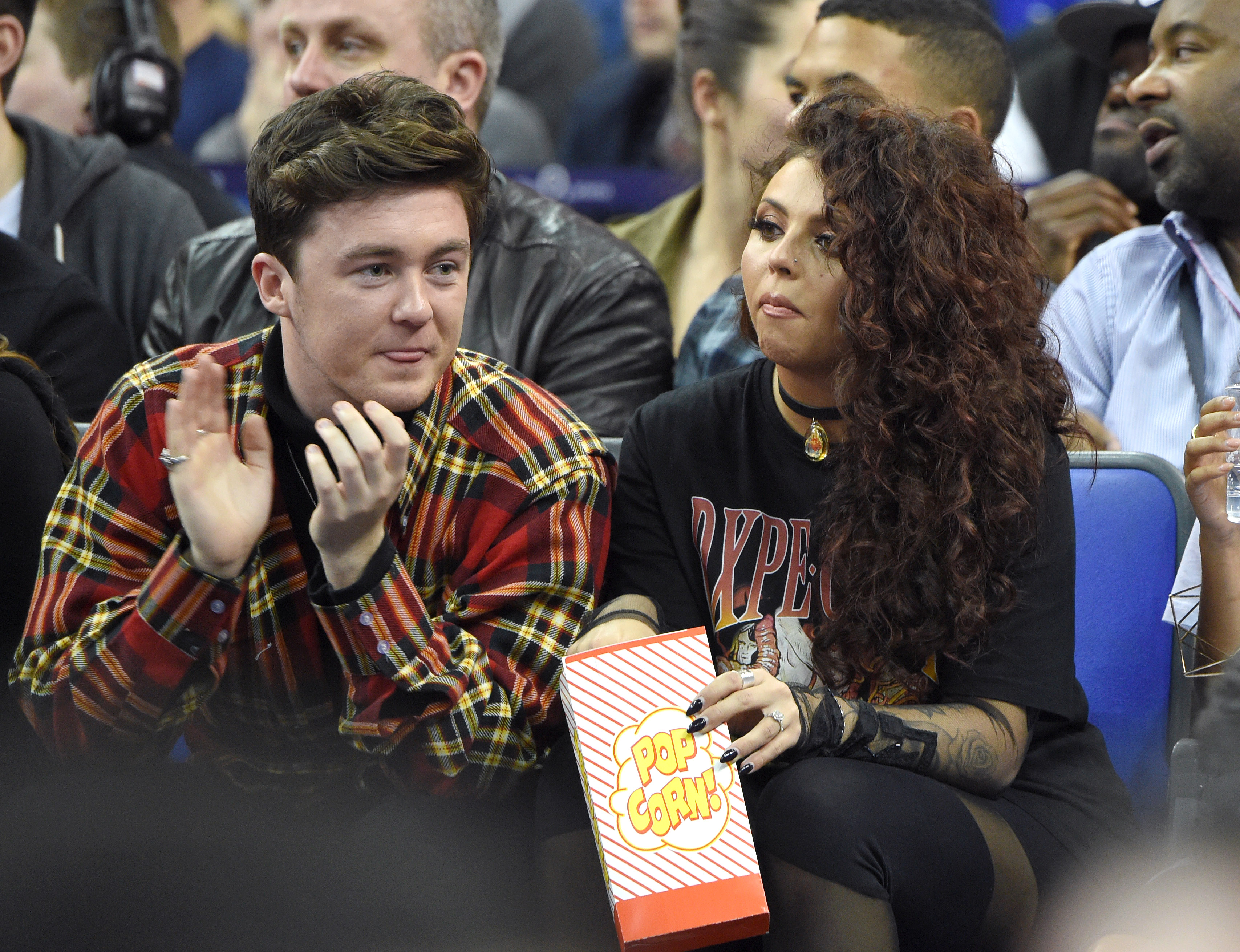 Jesy Nelson and Jake Roche have been engaged since 2015 (Picture: Karwai Tang/WireImage)
