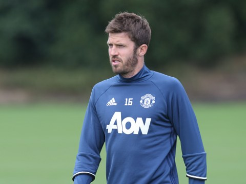 Michael Carrick gives Jose Mourinho a timely boost by returning to training ahead of West Ham clash