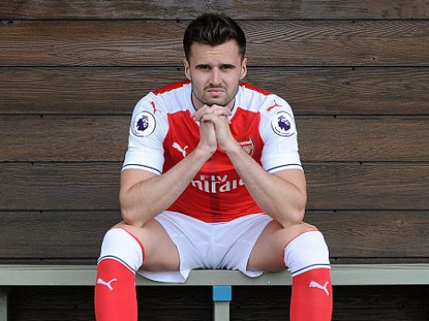 Arsenal fans can't contain their panic at the prospect of Carl Jenkinson replacing Hector Bellerin for Manchester United clash