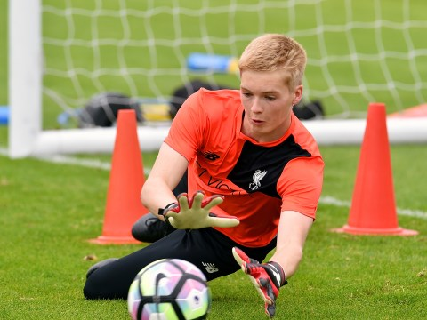 Liverpool youth goalkeeper Caoimhin Kelleher on crutches after fly bite causes abscess
