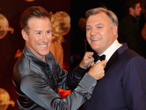Anton Du Beke is backing Ed Balls to win Strictly Come Dancing for the best reason