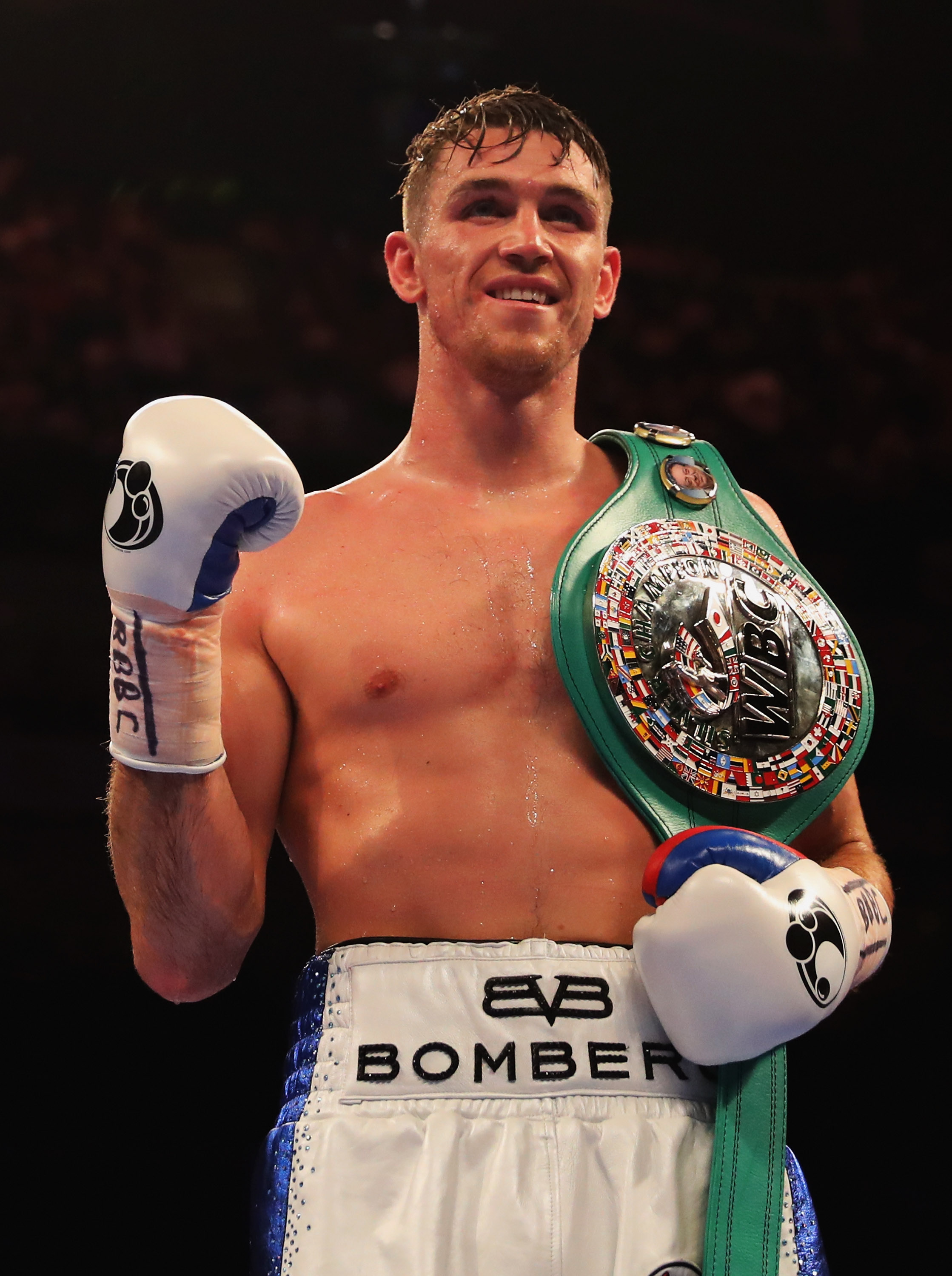 Callum Smith added to Anthony Joshua undercard in British super-middleweight title defence against Luke Blackledge