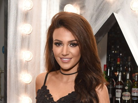 Michelle Keegan is the first guest announcer on Saturday Night Takeaway's new series