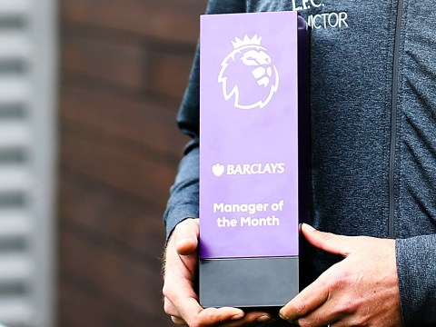 Chelsea, Arsenal, Liverpool and Stoke bosses in contention for Premier League Manager of the Month award