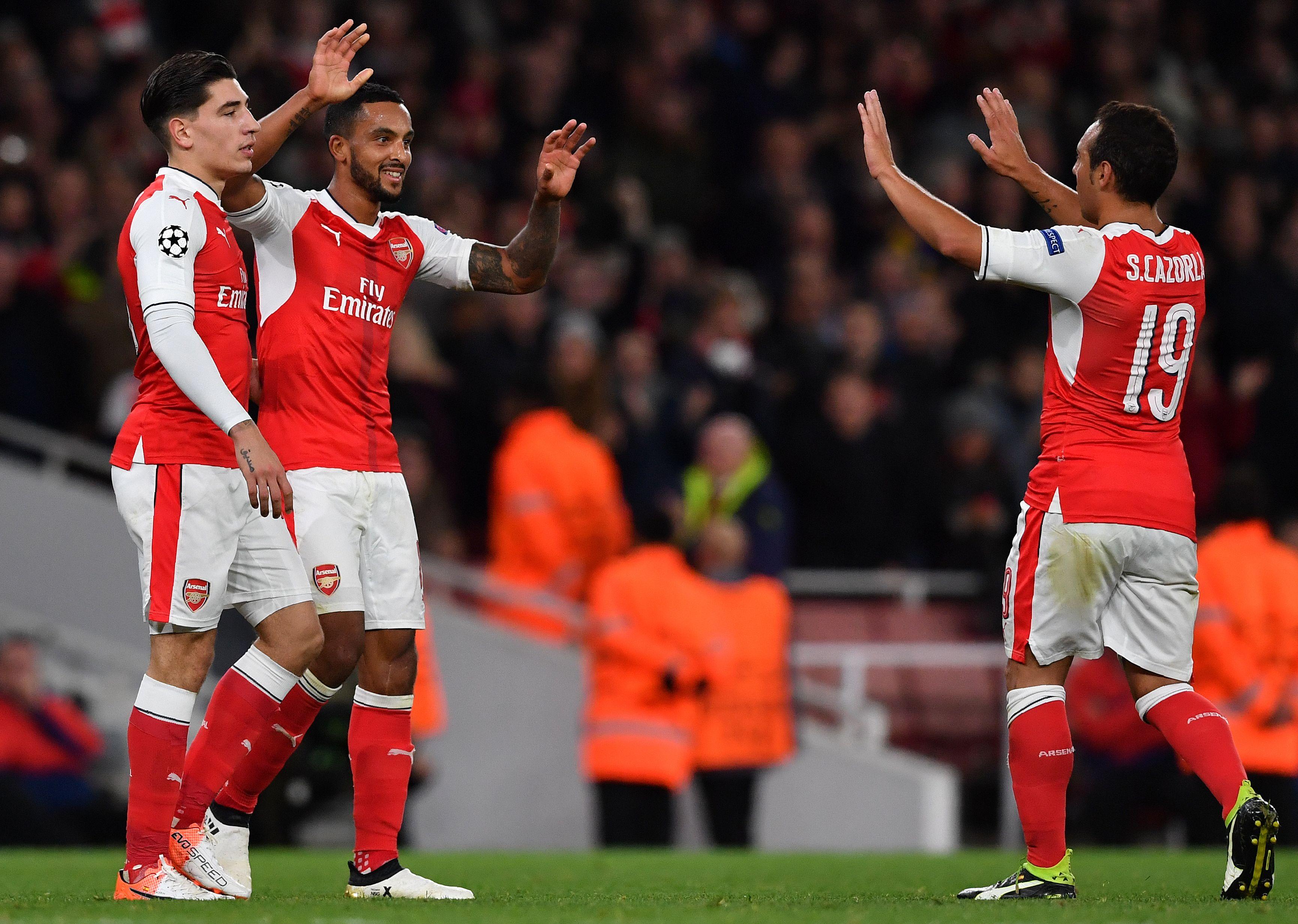 Theo Walcott, Santi Cazorla, Hector Bellerin and Nacho Monreal to return for Arsenal v Tottenham