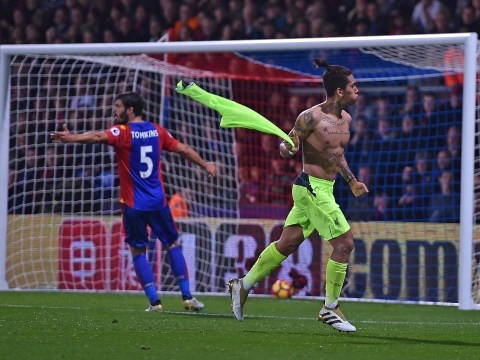 Liverpool's Roberto Firmino could have had goal disallowed for removing shirt