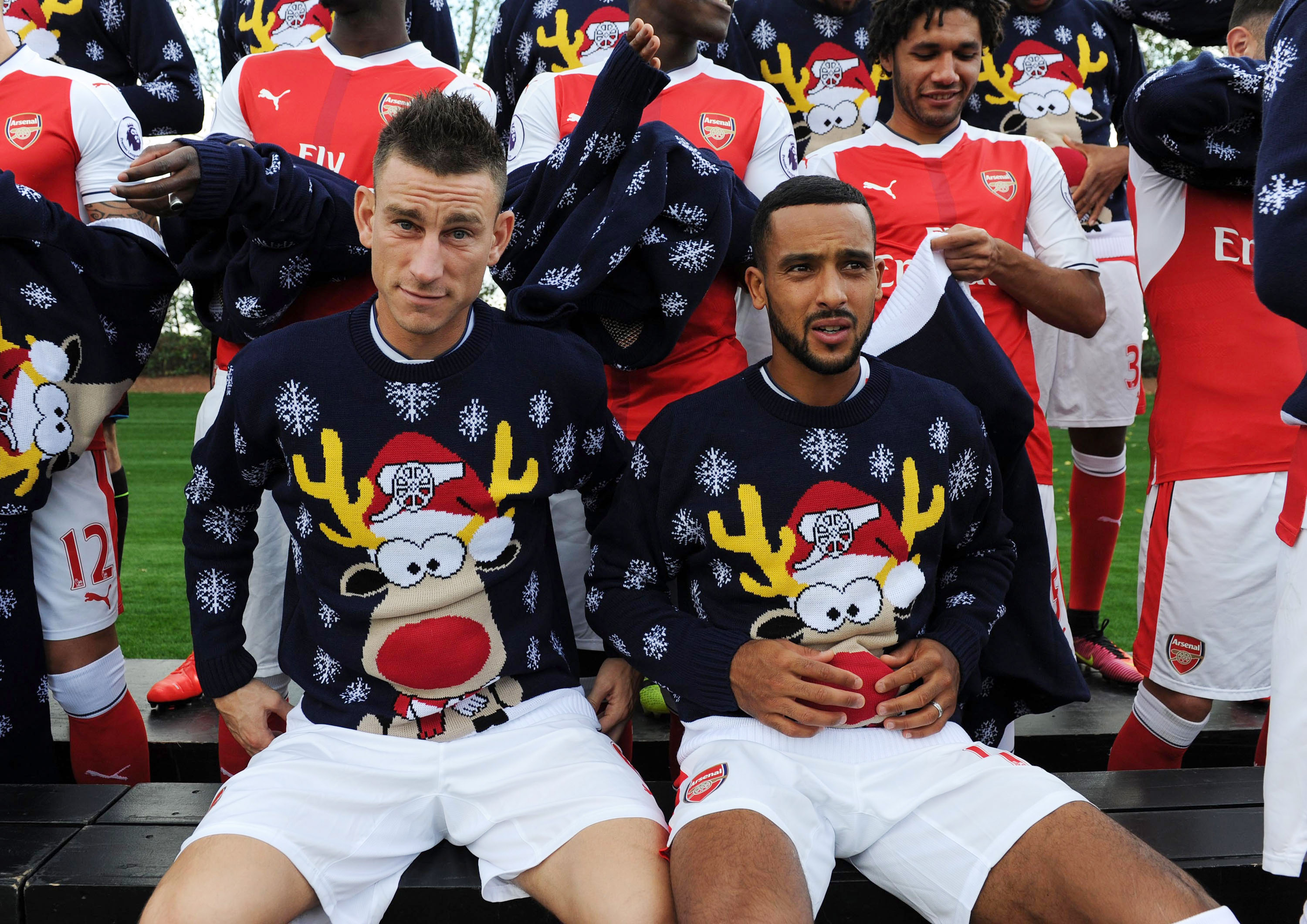 Theo Walcott could join Arsenal absentees for Manchester United clash if wife goes into labour