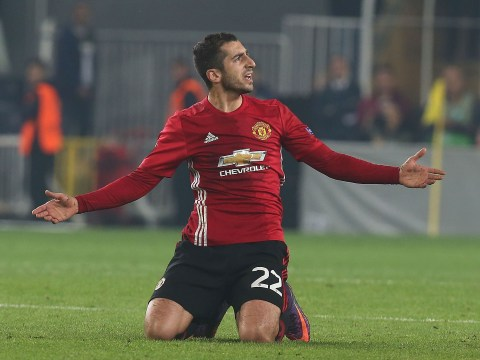 Manchester United Henrikh Mkhitaryan thrown into deep end against Fenerbahce on return from exile and fails to swim