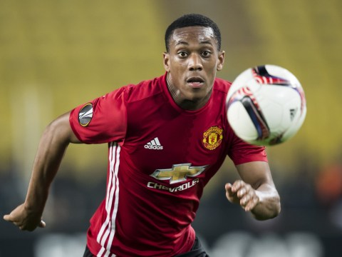 Manchester United boss Jose Mourinho has tried everything to get Anthony Martial firing