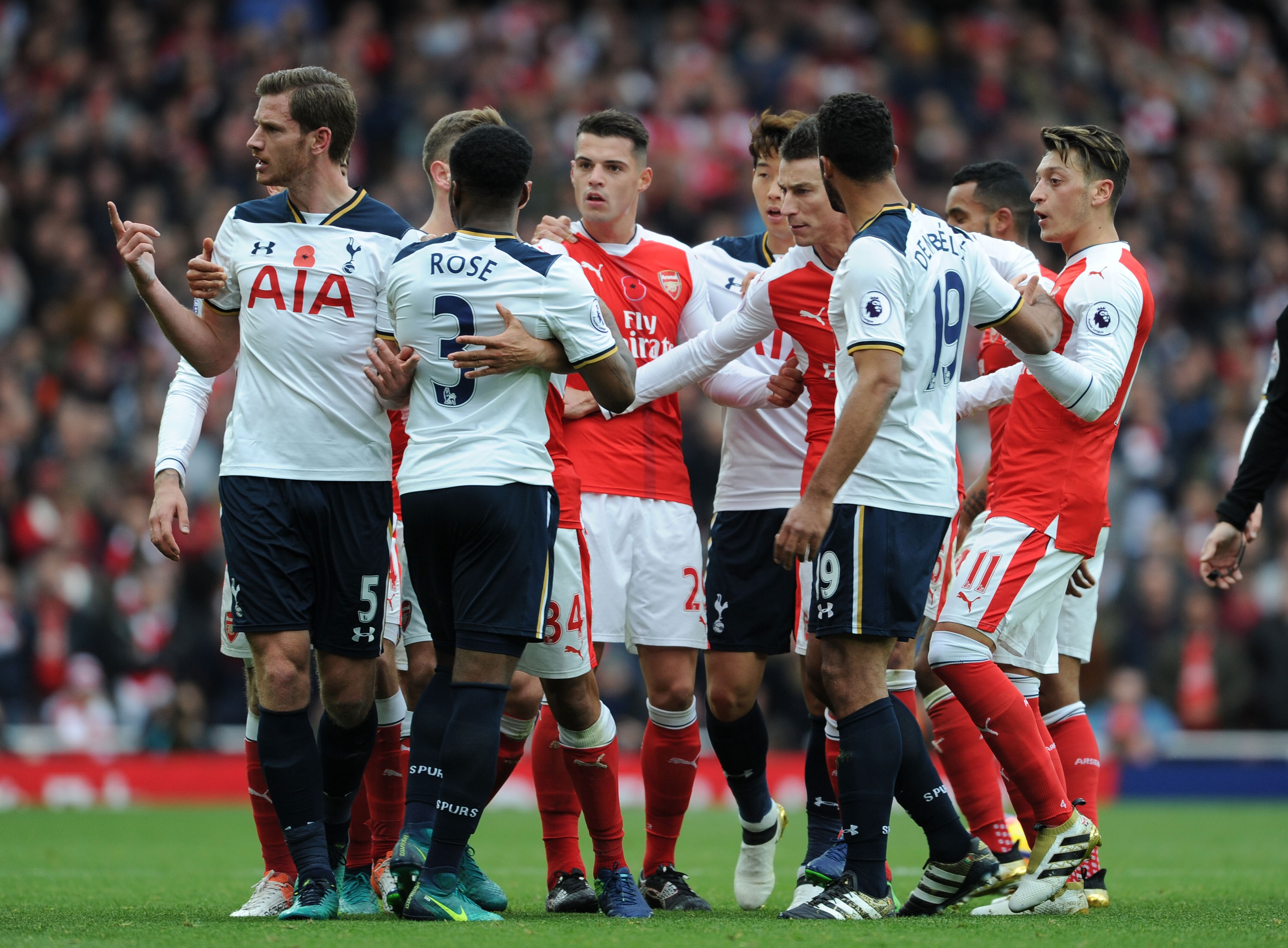 Arsenal's midfield is nowhere near as good as Tottenham's, says ex-Spurs star Jermaine Jenas