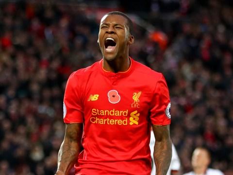 Liverpool midfielder Georginio Wijnaldum has the taste for goals at Anfield