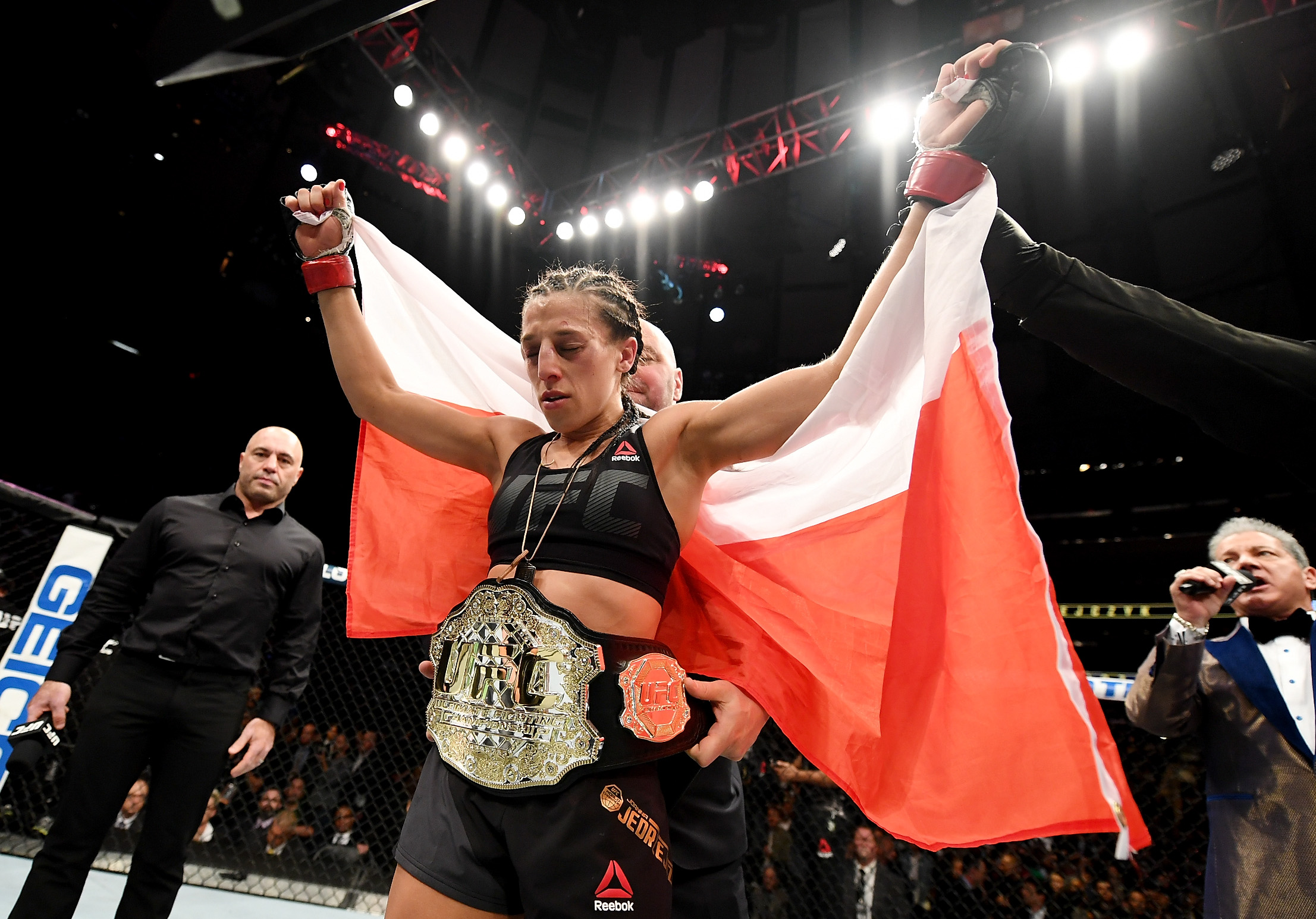 UFC strawweight champion Joanna Jedrzejczyk aims to emulate Conor McGregor's two-weight success