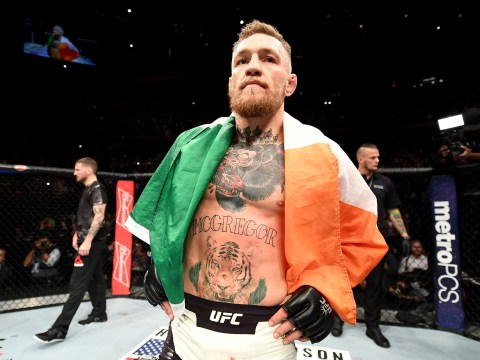 Tyron Woodley says Conor McGregor using Floyd Mayweather fight to dodge him