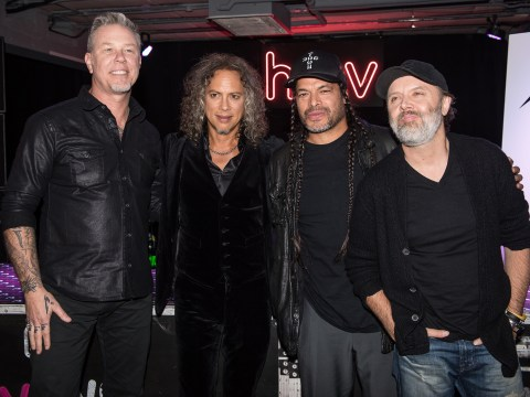 Metallica return to London with incredible intimate show at House of Vans