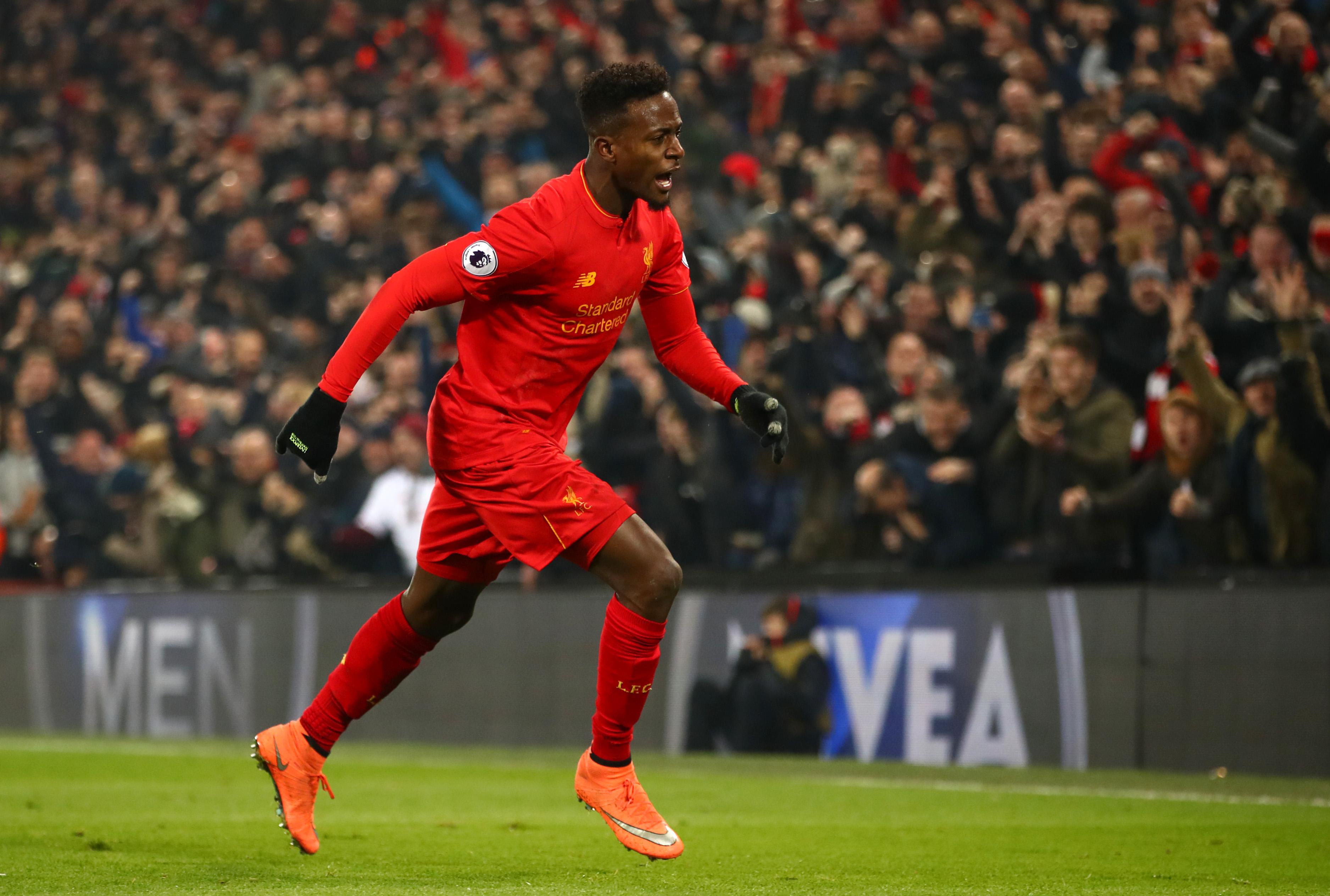 Liverpool's Divock Origi has scored five Premier League goals as a substitute