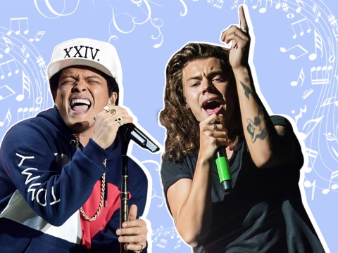 Harry Styles has been working with Bruno Mars on his debut album