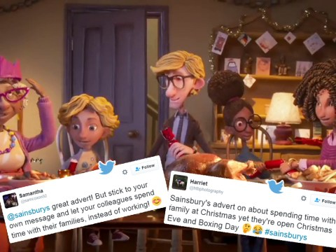 Sainsbury's staff want Boxing Day off… just like Sainsbury's advert says they should