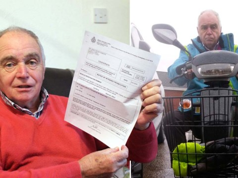Pensioner given 42mph speeding ticket for his mobility scooter