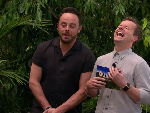 I'm A Celebrity 2016 hosts Ant and Dec just trashed the Extra Camp set