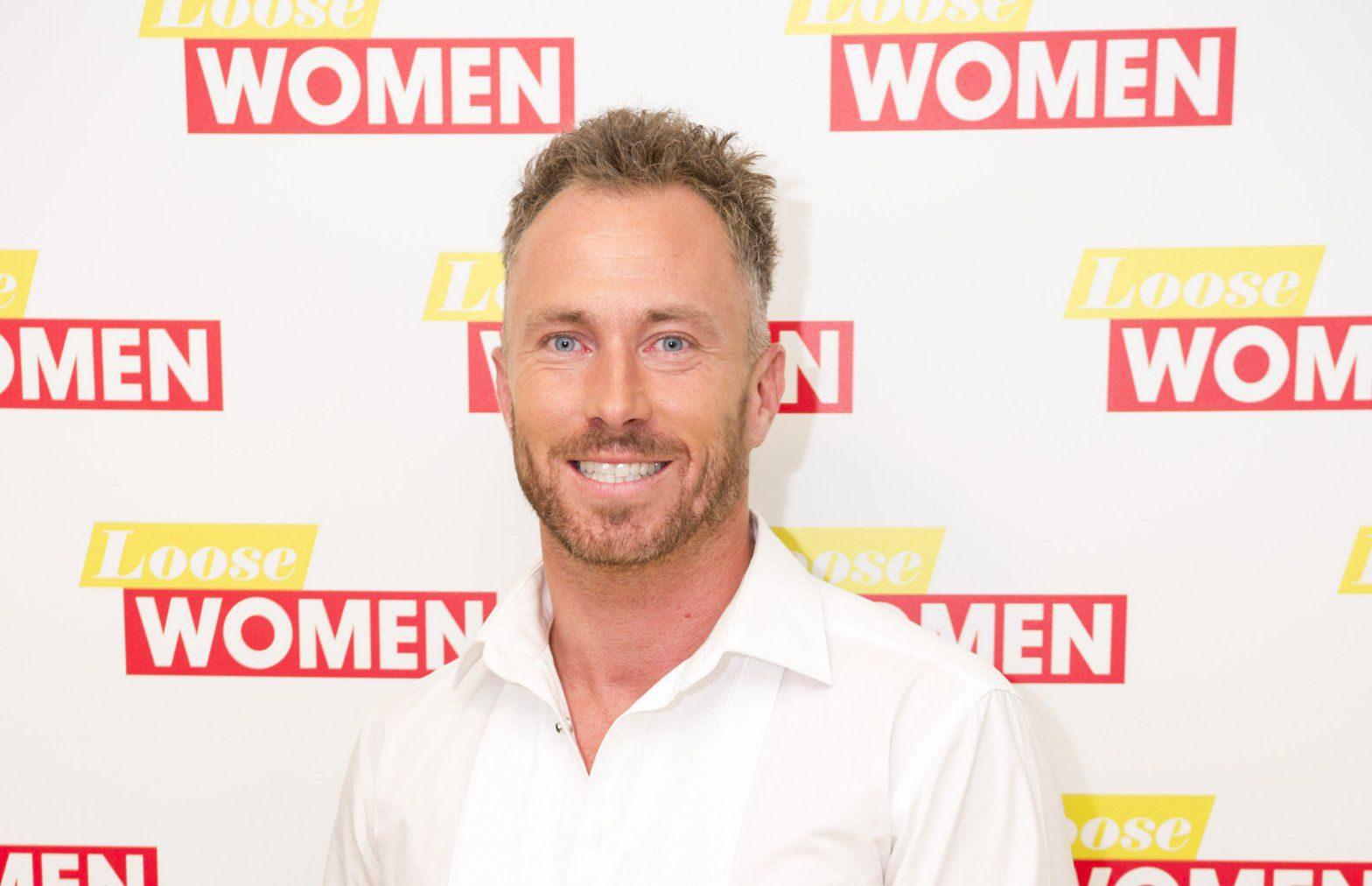 EDITORIAL USE ONLY. NO MERCHANDISINGnMandatory Credit: Photo by Ken McKay/ITV/REX/Shutterstock (6027784af)nJames Jordann'Loose Women' TV show, London, UK - 27 Sep 2016nn