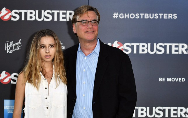 Mandatory Credit: Photo by Rob Latour/REX/Shutterstock (5754119bx)nAaron Sorkin and Roxy Sorkinn'Ghostbusters' film premiere, Arrivals, Los Angeles, USA - 09 Jul 2016nn