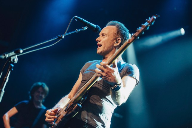 British pop legend Sting has reopened the Bataclan on the anniversary eve of the 2015 Paris terror attacks (Picture: Boris Allin/Universal Music France via AP)