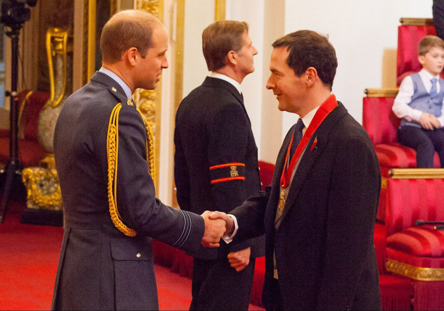 George Osborne is finally getting recognition from the Queen