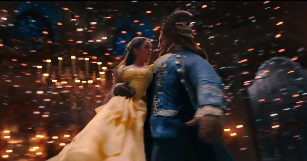 The Beauty And The Beast trailer has broken viewing records online (Picture: Walt Disney Pictures/Mandeville Films)