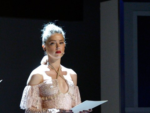Amber Heard thanks Stanford sexual assault victim for her courage at Glamour Women Of The Year awards
