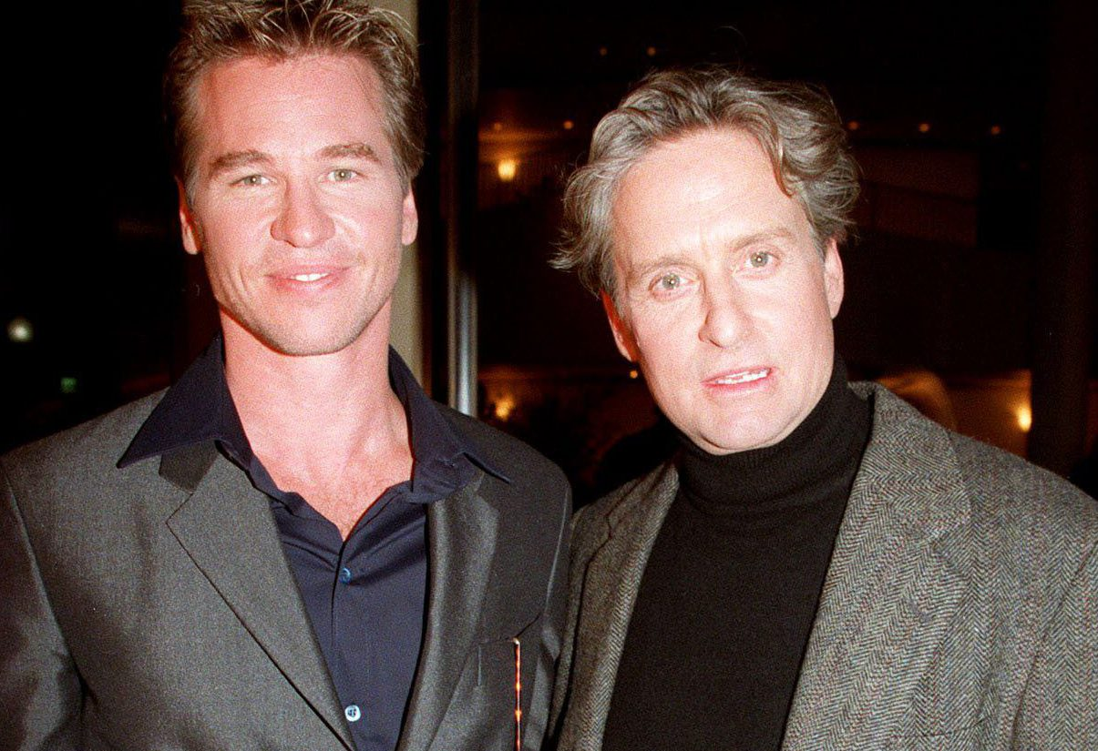 Michael Douglas has apologised to Val Kilmer for saying he had throat cancer (Picture: BEI/BEI/Shutterstock CharbonneauÆBerliner Studio/BEImages)