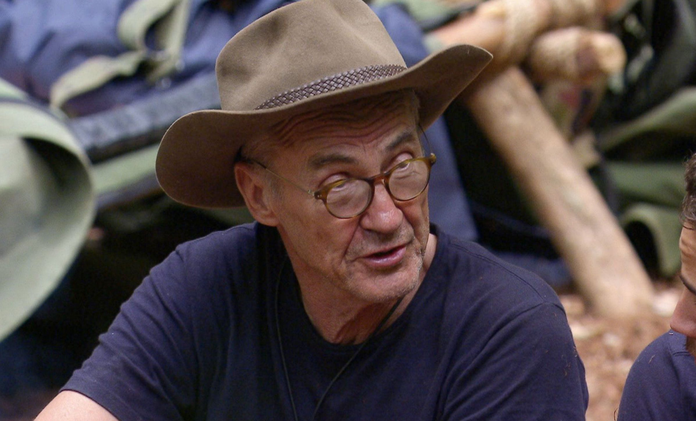 ***EMBARGO, NOT TO BE USED BEFORE 22:50 GMT, 26 Nov 2016 - EDITORIAL USE ONLY - NO MERCHANDISING*** Mandatory Credit: Photo by ITV/REX/Shutterstock (7524329y) Camp life - Larry Lamb 'I'm a Celebrity...Get Me Out of Here!' TV Show, Australia - 26 Nov 2016
