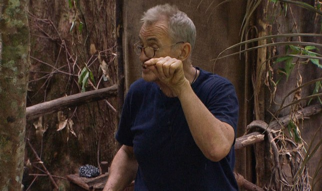 ***EMBARGO, NOT TO BE USED BEFORE 22:50 GMT, 26 Nov 2016 - EDITORIAL USE ONLY - NO MERCHANDISING*** Mandatory Credit: Photo by ITV/REX/Shutterstock (7524329as) Larry Lamb and Martin Roberts have an intense discussion 'I'm a Celebrity...Get Me Out of Here!' TV Show, Australia - 26 Nov 2016