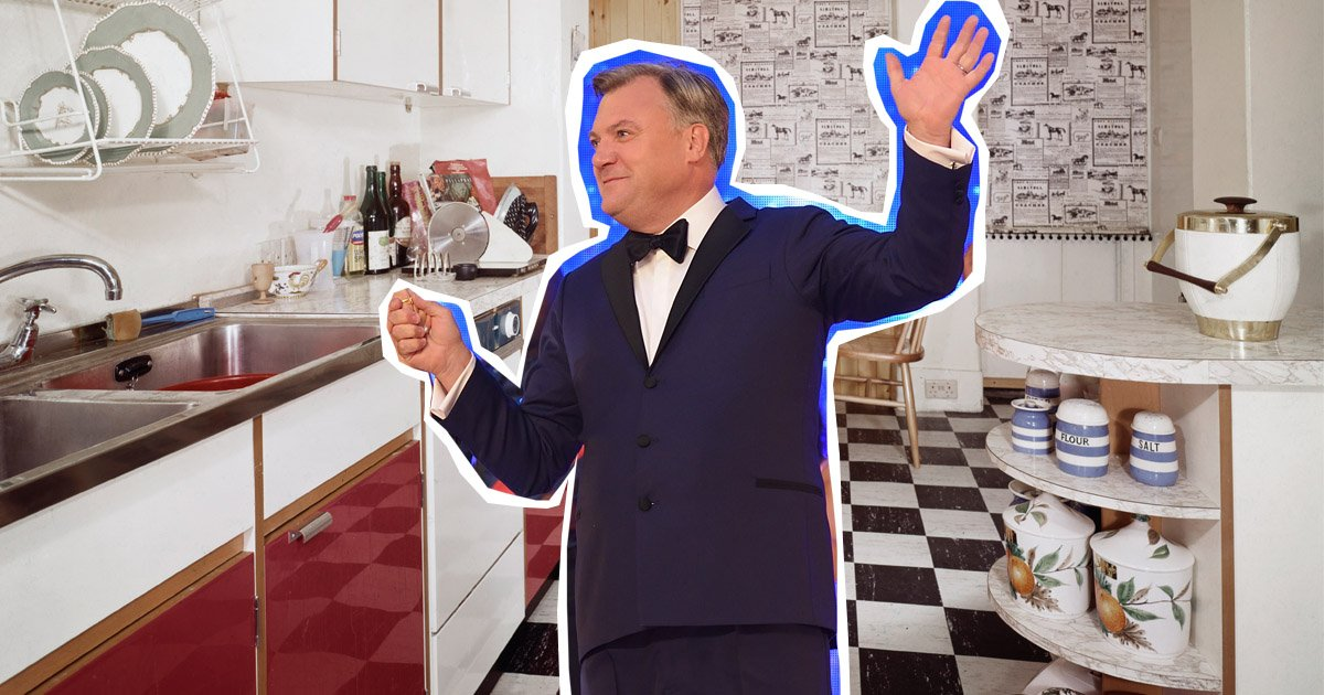 Strictly's Ed Balls has shown off some Rumba dance steps live from his kitchen (Picture: Getty Images/Metro)