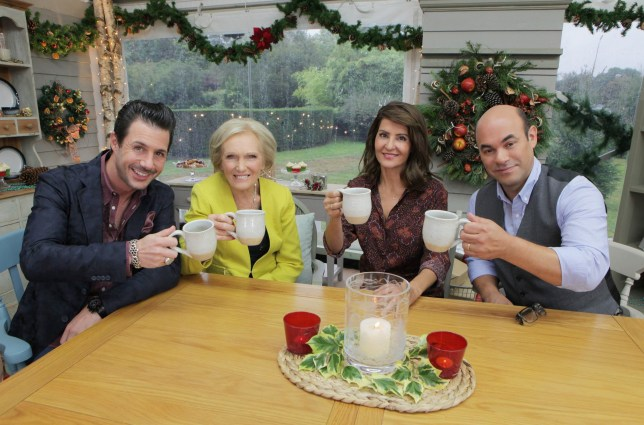 Mary Berry Brought Back To The Us For The Great American Baking Show