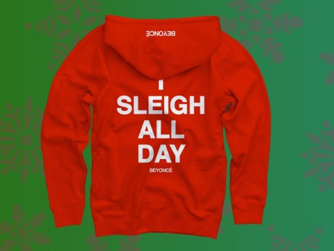 Beyoncé's 'I sleigh all day' hoody is the only Christmas jumper you need this year